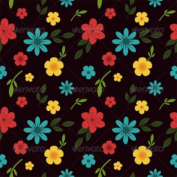 GraphicRiver Floral Pattern 6755388