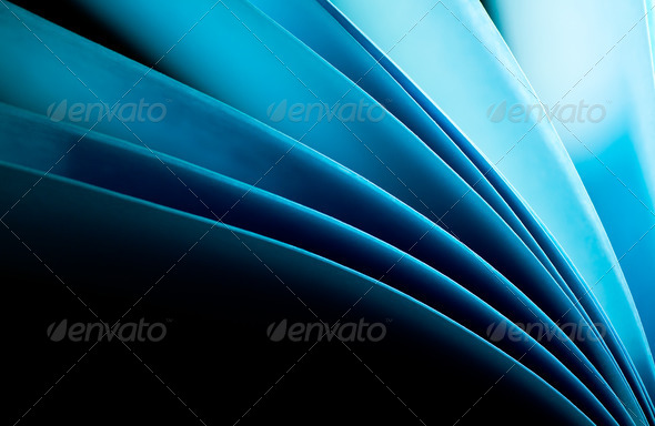 Blue Notepad Abstract Background I - Stock Photo - Images