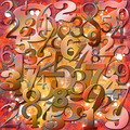 Background with Numbers - PhotoDune Item for Sale
