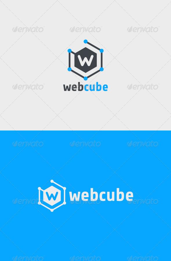 GraphicRiver Web Cube Logo 6755525