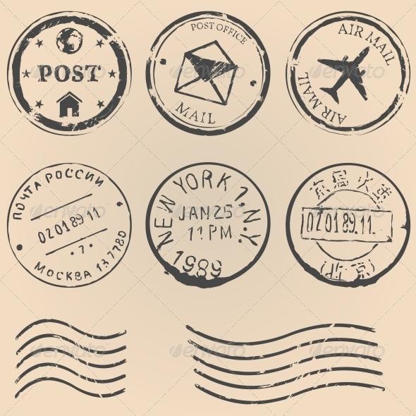 GraphicRiver Postal Stamps 6755604
