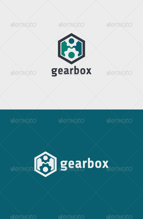 GraphicRiver Gear Box Logo 6755709