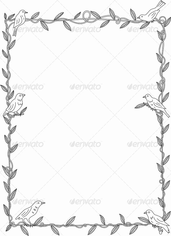 GraphicRiver Bird Frame 6755926