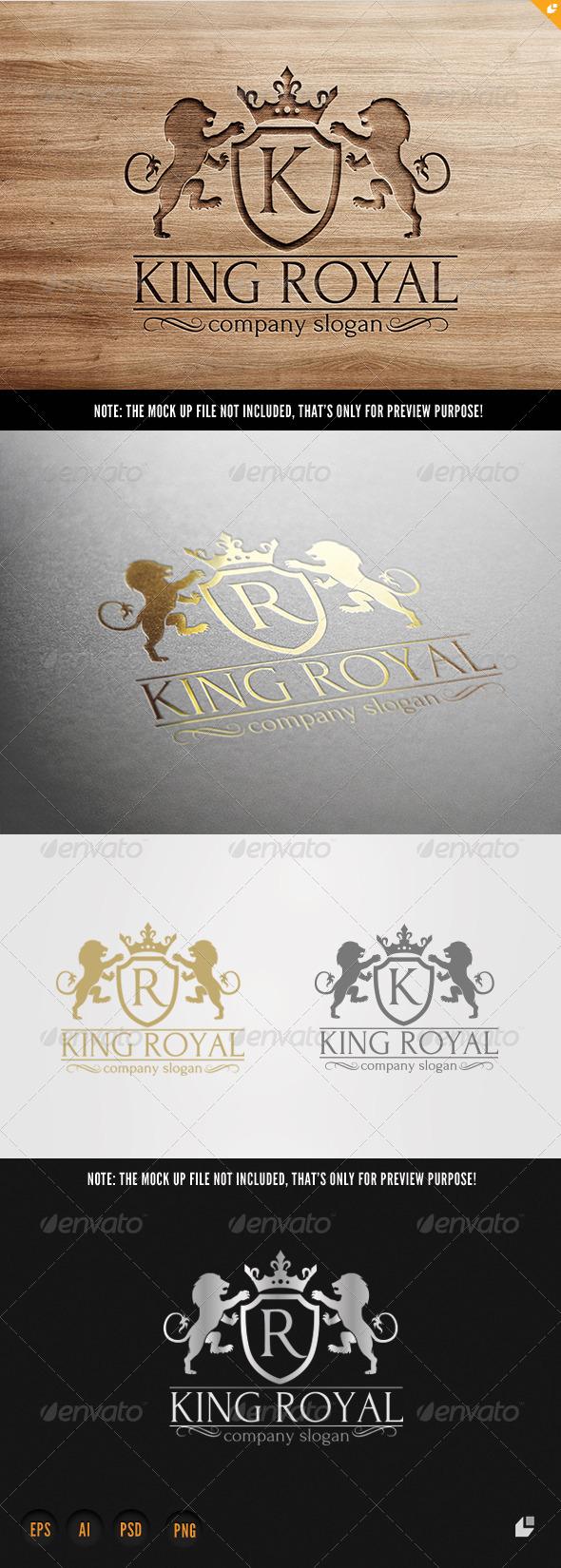 GraphicRiver King Royal Logo 6755987