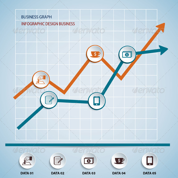 GraphicRiver Paper Chart and Graph Infographics 6756519