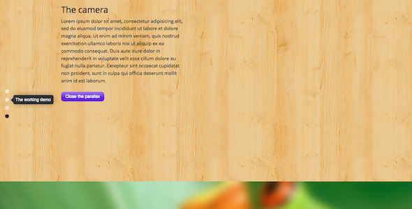 CodeCanyon Fullscreen Parallax WordPress Plugin 6757025