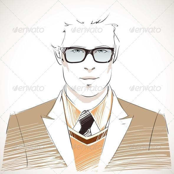 GraphicRiver Businessman Portrait 6757044