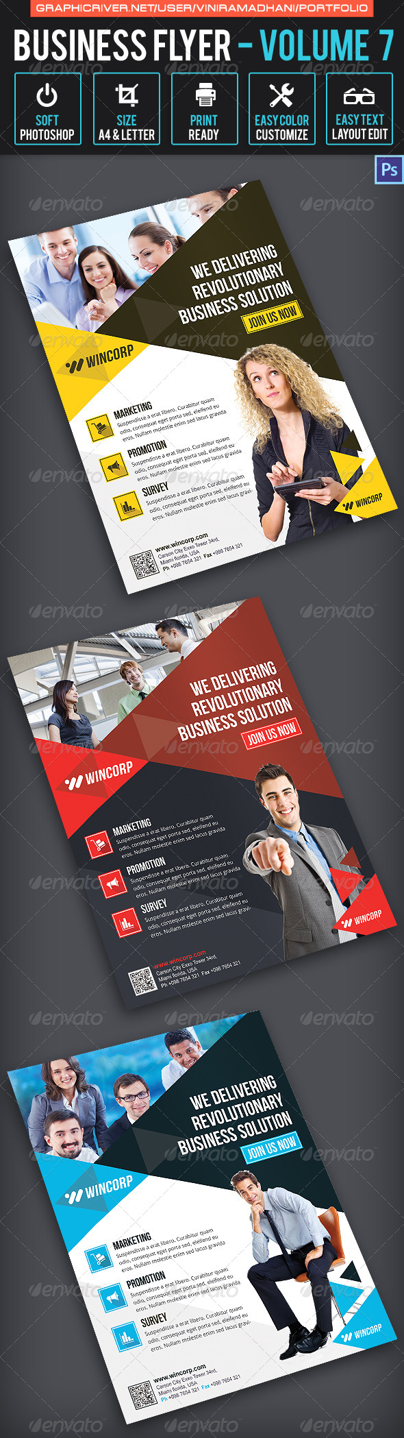 GraphicRiver Business Flyer Volume 7 6757152
