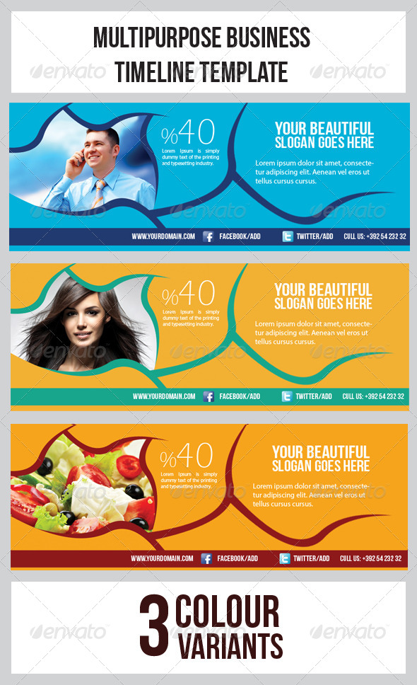 GraphicRiver Multipurpose Banner Timeline Template 6757407
