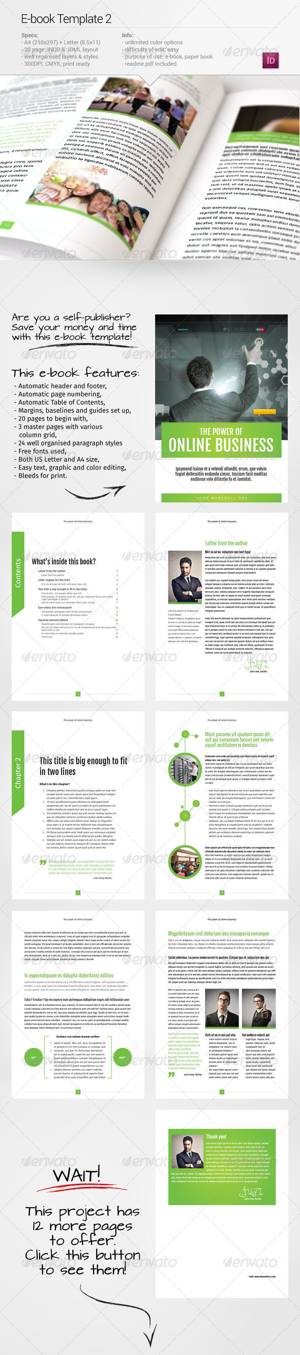 GraphicRiver E-book Template 2 6757629