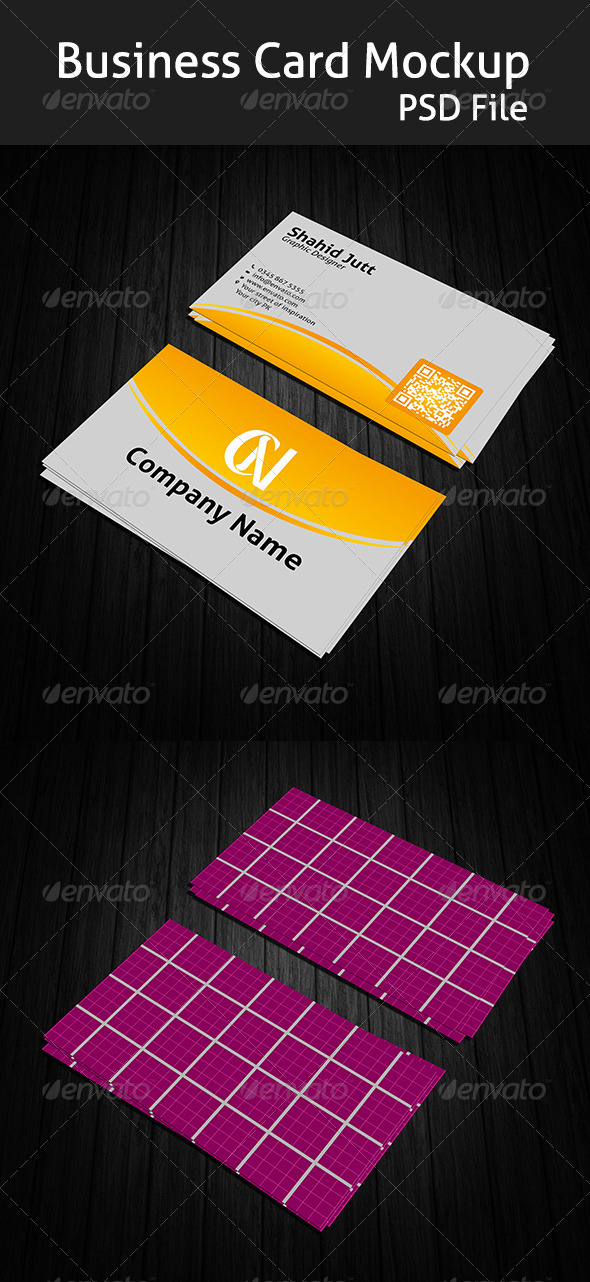 GraphicRiver Business Card Mockup 6757645
