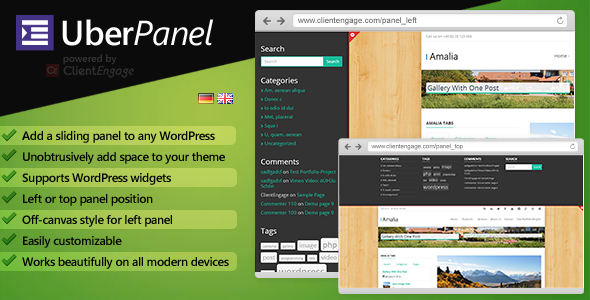 UberPanel - Sliding Panel Plugin for WordPress - CodeCanyon Item for Sale