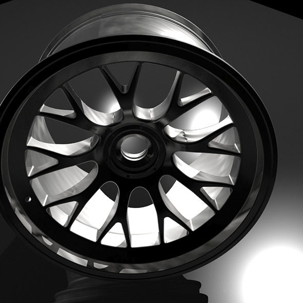 car rim - 3DOcean Item for Sale