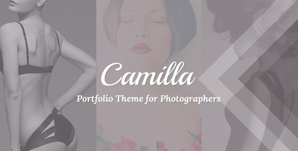 Camilla - Horizontal Fullscreen Photography Theme! - Photography Creative