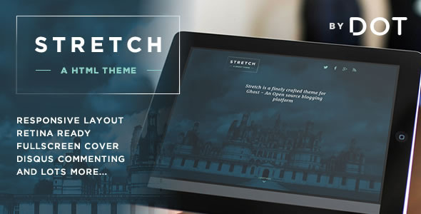 ThemeForest Stretch Responsive HTML Theme by DOT 6758251