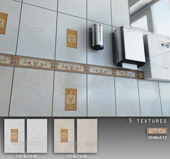 3DOcean Professional Ceramic Tile Collection C051 708626