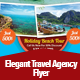 Elegant Travel Agency Flyer Template - GraphicRiver Item for Sale