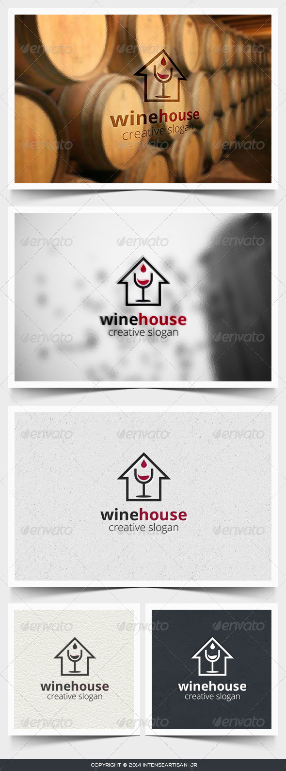 GraphicRiver Wine House Logo Template 6760201
