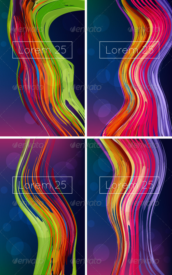 GraphicRiver Bright Abstract Backgrounds 6760220