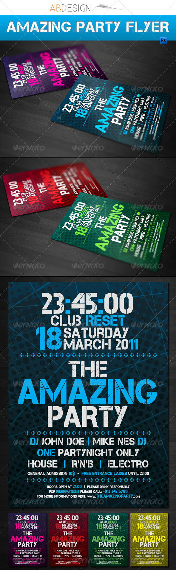 Amazing Party Flyer - Clubs & Parties Events