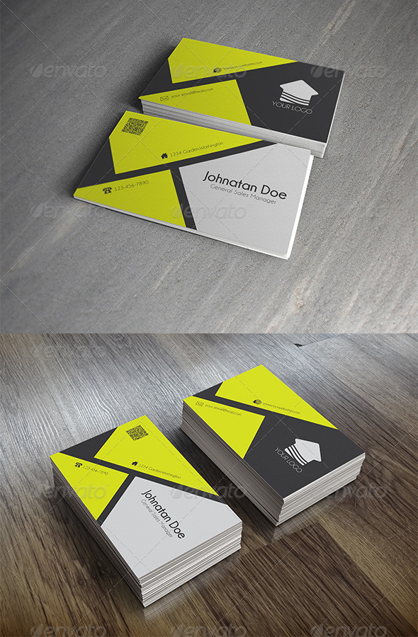 GraphicRiver Corporate Business Card 6761004