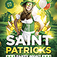 Saint Patricks Party Night Flyer Template - GraphicRiver Item for Sale