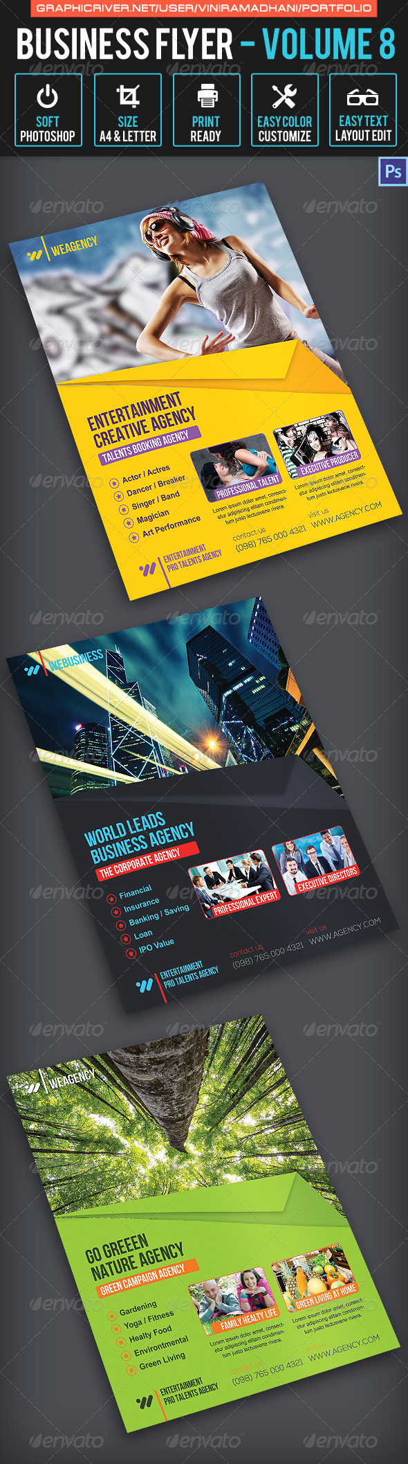 GraphicRiver Business Flyer Volume 8 6761656