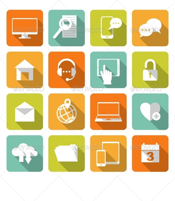 GraphicRiver Social Media Web Icons 6761719