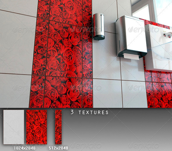 3DOcean Professional Ceramic Tile Collection C056 708666