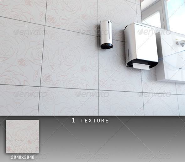 3DOcean Professional Ceramic Tile Collection C057 708667