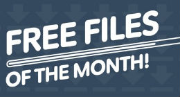 Envato Marketplaces Free Files of the Month Feb 2014