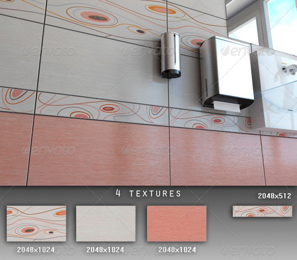 3DOcean Professional Ceramic Tile Collection C059 708670
