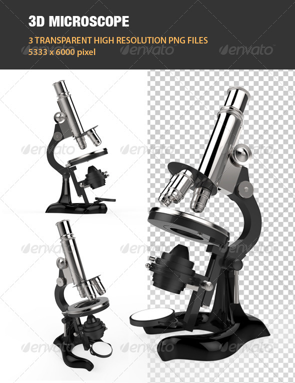 GraphicRiver 3D Microscope 6762335
