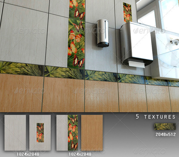 3DOcean Professional Ceramic Tile Collection C062 708676