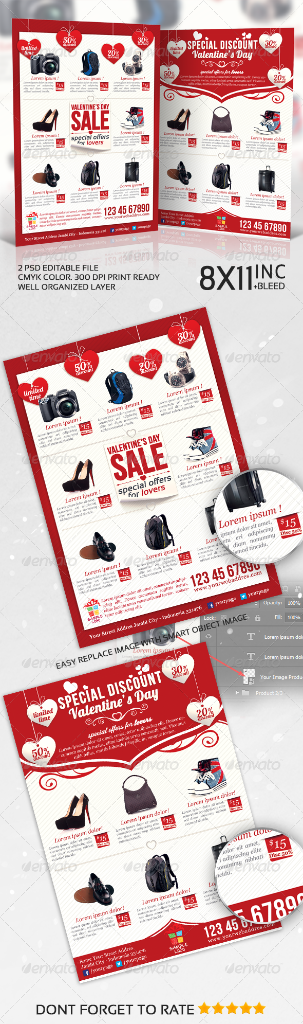 GraphicRiver Valentines Product Sale Promotion Flyer 6763195