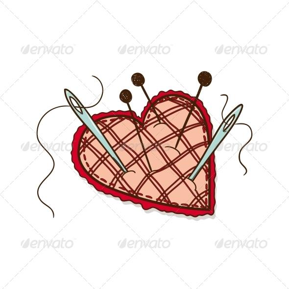 GraphicRiver Pin Cushion 6763233