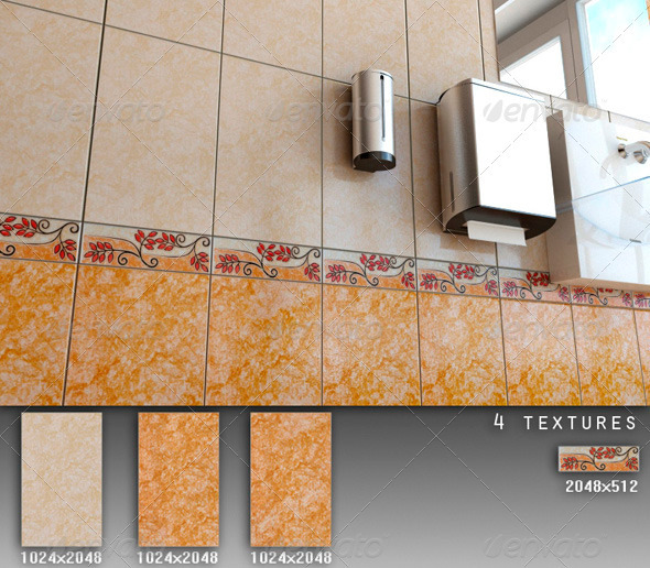Professional Ceramic Tile Collection C064 - 3DOcean Item for Sale