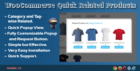 CodeCanyon WooCommerce Quick Related Products 6763952