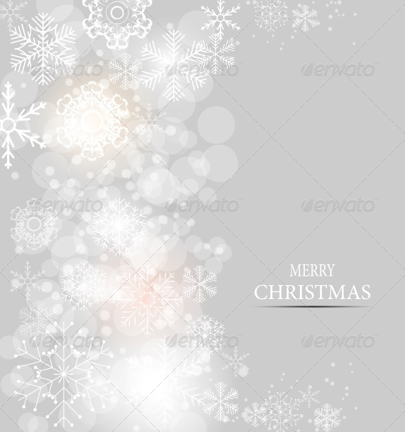 GraphicRiver Christmas Snowflakes Background 6764754