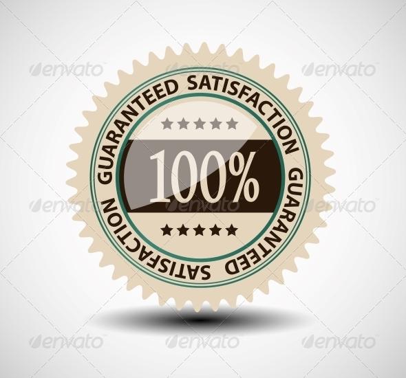GraphicRiver Satisfaction Guaranteed Label 6764895