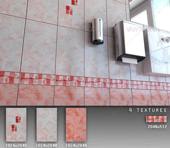 Professional Ceramic Tile Collection C066 - 3DOcean Item for Sale