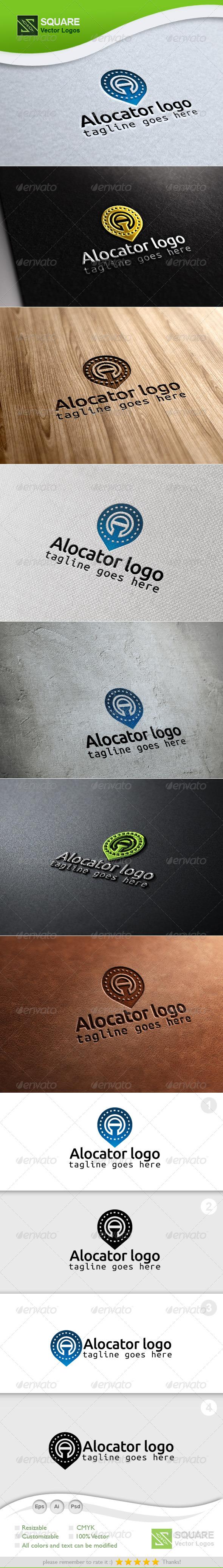 GraphicRiver A Locator Vector Logo Template 6765029