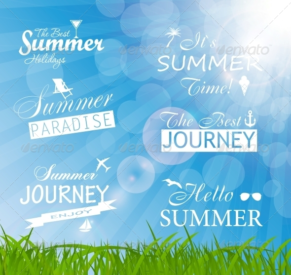 GraphicRiver Abstract Summer Background 6765043