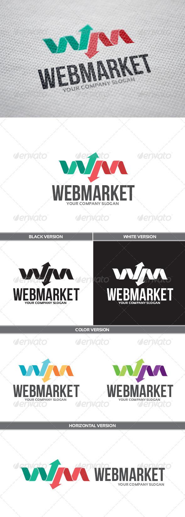 GraphicRiver WebMarket Logo 6765106
