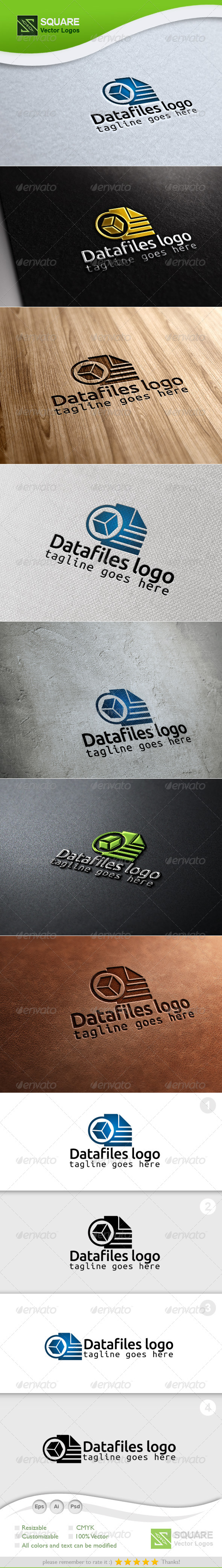 Pixel Files Vector Logo Template