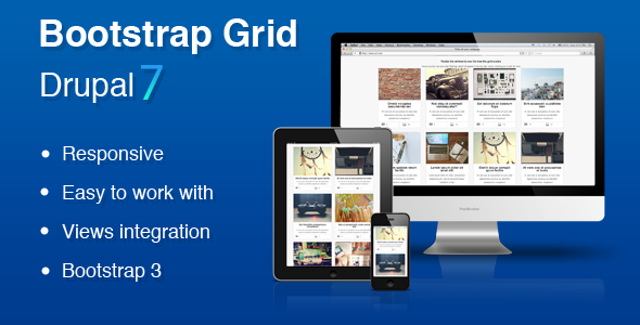 CodeCanyon Bootstrap Grid Drupal 7 Views Grid 6732197