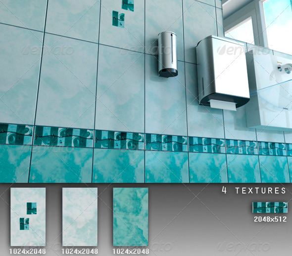 Professional Ceramic Tile Collection C067 - 3DOcean Item for Sale
