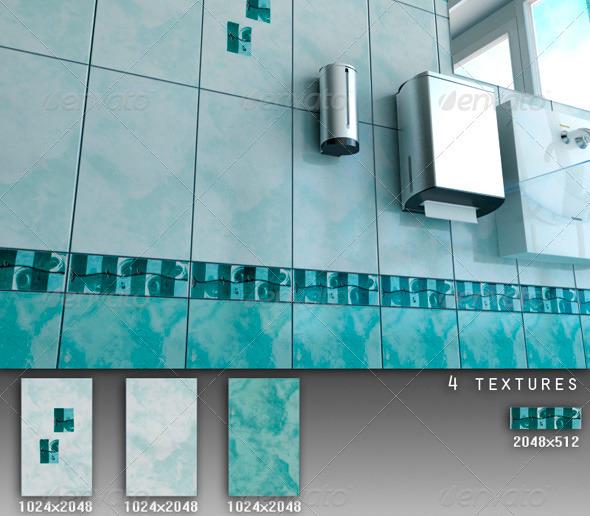 Professional Ceramic Tile Collection C067 - 3DOcean Item for Sale