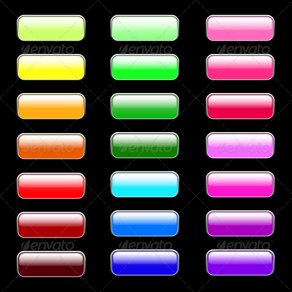 GraphicRiver Colored Internet Buttons 6765782