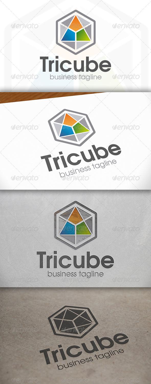 GraphicRiver Tricube Logo 6766334
